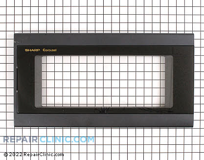 Microwave Oven Door (OEM)  FCOVB029MRK0, 1913542