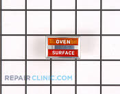 Indic. light-oven & surface - Part # 499153 Mfg Part # 318T015P01