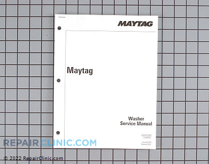 Manual, service kit 16010358 Main Product View