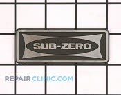 Logo, stainless 3 1/2, (st - Part # 1567790 Mfg Part # 7015939