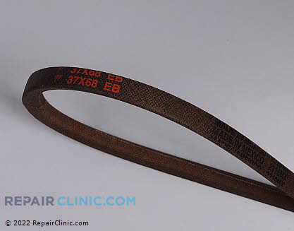 Belt: V-Belt, Briggs & Stratton Genuine OEM  037X68MA, 1668703