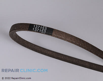 Belt: V-Belt (Genuine OEM)  137153, 1668638