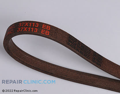 Belt: V-Belt, Briggs & Stratton Genuine OEM  37X113MA, 1668817