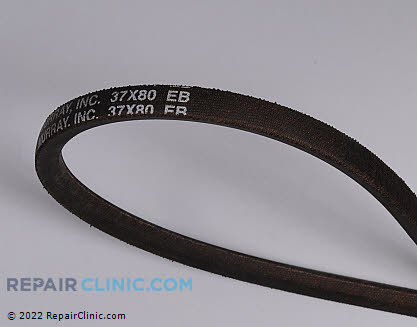 Belt: V-Belt, Briggs & Stratton Genuine OEM  37X80MA