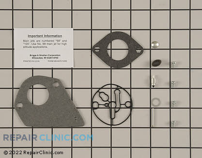 Rebuild Kit, Briggs & Stratton Genuine OEM  695427