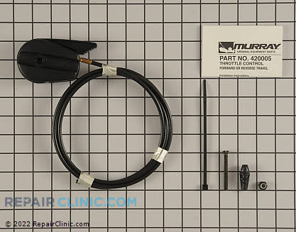 Control Cable, Briggs & Stratton Genuine OEM  420005MA - $11.95