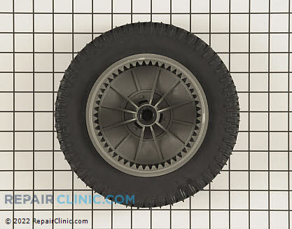 Wheel Assembly With Gear, Briggs & Stratton Genuine OEM  672440MA