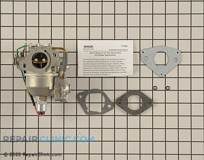 Carburetor, Kohler Engines Genuine OEM  24 853 92-S