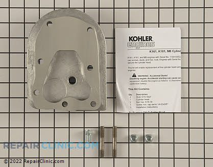 Cylinder Head, Kohler Engines Genuine OEM  41 755 25-S
