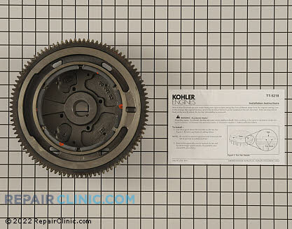 Flywheel, Kohler Engines Genuine OEM  24 025 56-S