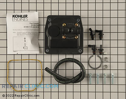 Fuel Pump, Kohler Engines Genuine OEM  24 559 12-S