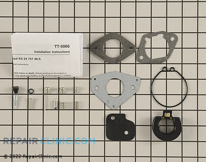 Rebuild Kit, Kohler Engines Genuine OEM  24 757 46-S
