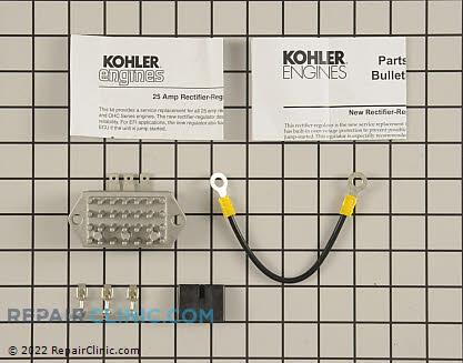 Voltage Regulator, Kohler Engines Genuine OEM  24 755 144-S