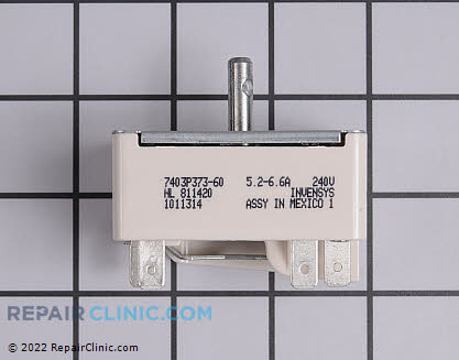 Amana Surface Burner Switch