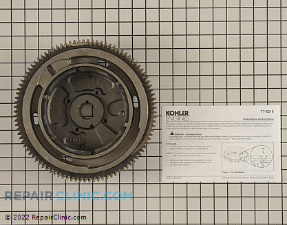 Flywheel, Kohler Engines Genuine OEM  24 025 57-S