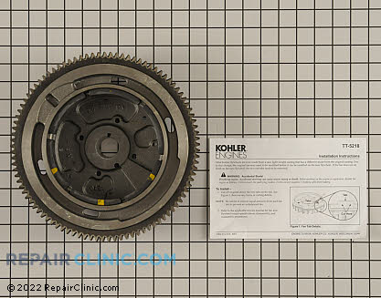 Flywheel, Kohler Engines Genuine OEM  24 025 58-S