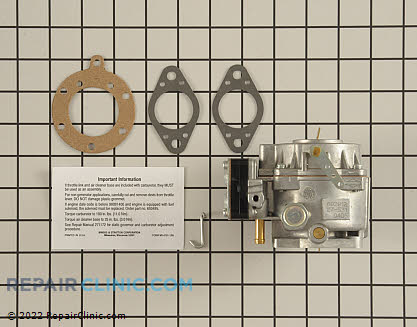 Carburetor, Briggs & Stratton Genuine OEM  693480