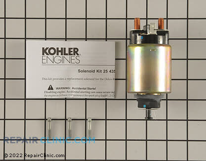 Starter Solenoid, Kohler Engines Genuine OEM  25 435 06-S