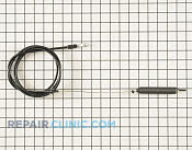 Control Cable - Part # 1660474 Mfg Part # 435111