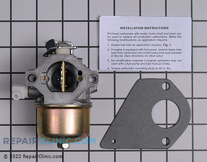 Carburetor, Briggs & Stratton Genuine OEM  692684, 1643657