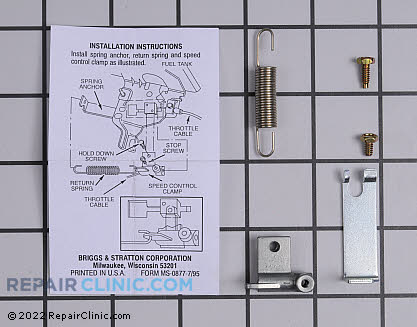 Throttle Control Bracket, Briggs & Stratton Genuine OEM  692316, 1643496
