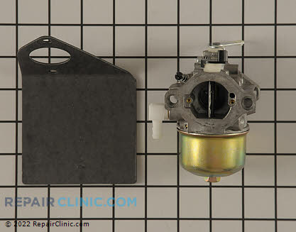 Carburetor, Briggs & Stratton Genuine OEM  497581, 1641775