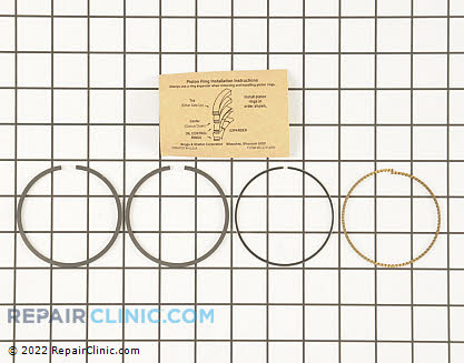 Piston Ring Set, Briggs & Stratton Genuine OEM  791098 - $19.75