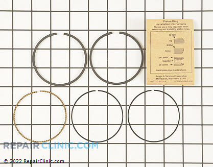 Piston Ring Set, Briggs & Stratton Genuine OEM  791969, 1646906