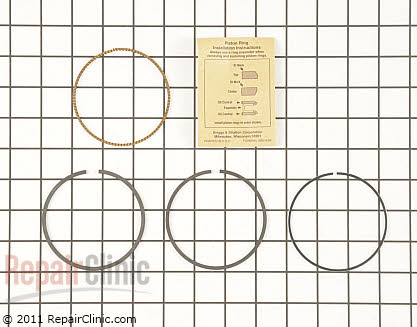 Piston Ring Set, Briggs & Stratton Genuine OEM  792026, 1646919