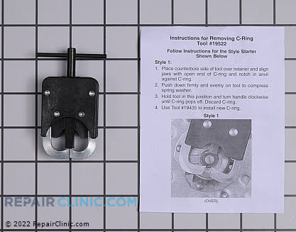 C-Ring Removal Tool 19522           Main Product View