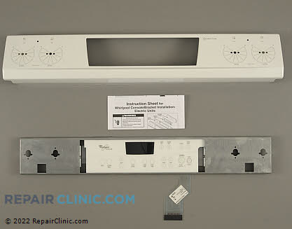 Touchpad and Control Panel (OEM)  W10122296, 1394372