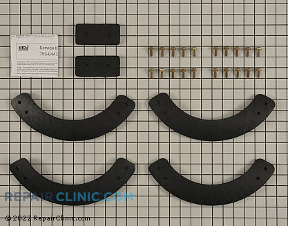 Auger Blade Kit-Rubber (Genuine OEM)  753-04472