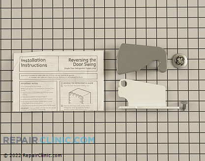 Door Hinge Kit (OEM)  WR49X10189 - $58.50