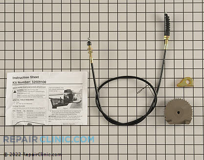 Control Cable, Ariens Genuine OEM  52609100 - $32.45