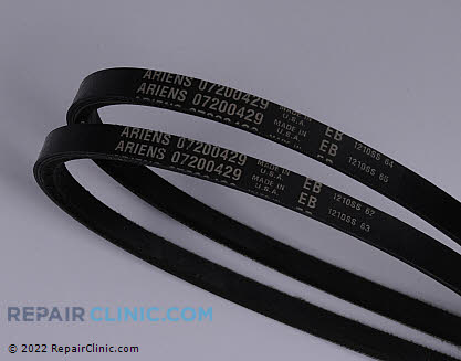 Belt: V-Belt, Ariens Genuine OEM  07200429