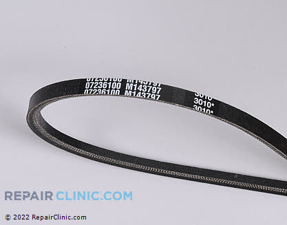 Belt: V-Belt, Ariens Genuine OEM  07236100 - $20.55