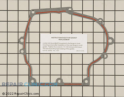 Oil Pan Gasket, Tecumseh Genuine OEM  37342