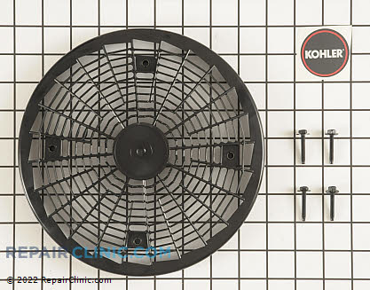 Grass Screen, Kohler Engines Genuine OEM  54 755 15-S