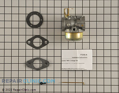 Carburetor, Kohler Engines Genuine OEM  45 853 08-S