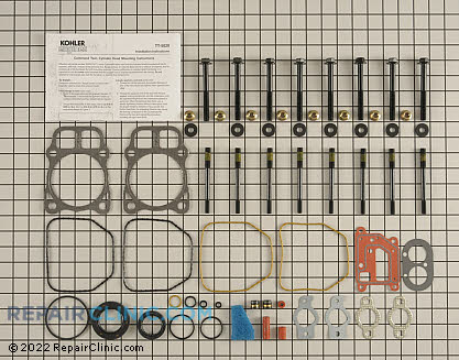 Gasket Set, Kohler Engines Genuine OEM  24755206-S