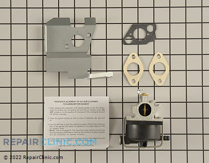 Carburetor 640020B Main Product View