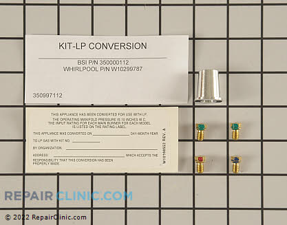 Conversion Kit (OEM)  W10299787 - $22.35