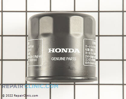 Oil Filter, Honda Power Equipment Genuine OEM  15410-MFJ-D01