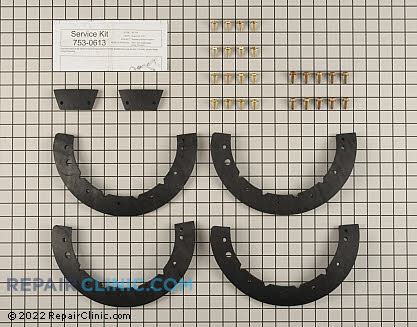 Auger Blade Kit (Genuine OEM)  753-0613, 1810042