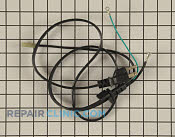 Power cord assembly - Part # 1352531 Mfg Part # 6411W1A031A