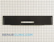 Backsplash panel - Part # 259159 Mfg Part # WB36K5321