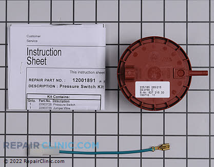 Pressure Switch 12001891        Main Product View