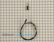 Control Cable - Part # 1606616 Mfg Part # 92-6518