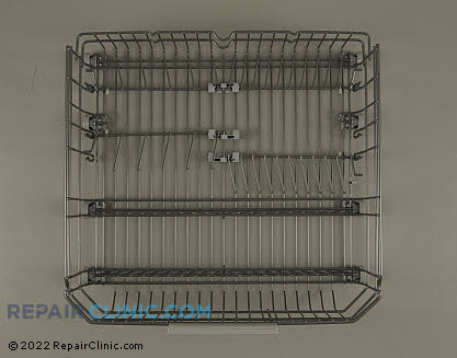 Asko Dishwasher Lower Dishrack Assembly