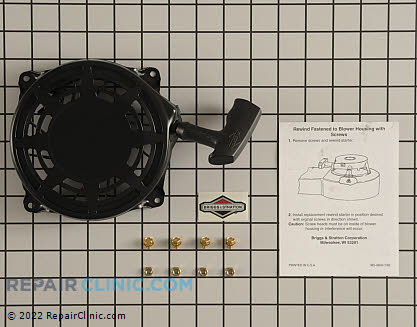 Recoil Starter, Briggs & Stratton Genuine OEM  497680